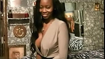 EBONY DREAM GIRL WITH THE BEST BREASTS IN PORN GETS CREAMPIE & CUMSHOT POWERLOAD CLIMAX ! THE HOTTEST INTERRACIAL SCENE IN PORN EVER !
