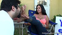 Foot Fetish - Foot Worship - Yard Sale video