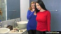 (Sydney Cole & Cyrstal Rae) Lez Horny Girls Make Action Sex Scene movie-28