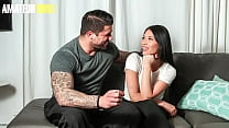 CASTING FRANCAIS - (Jennifer & Ryan Bones) Sexy Shy Asian Fucks On Casting With A Gym Trainer