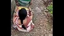 Desi Indian aunty fucking outside pornhub video