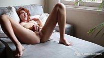 Redhead Yanks Babe Molly Broad Masturbating