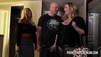 MILFs Alura Jenson and Lila Lovely fucking a fan thumbnail