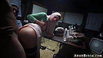 Arab Slut Teen Sneaking In The Base!