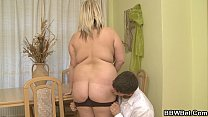 Busty fat girl skinny guy hot sex Vorschaubild