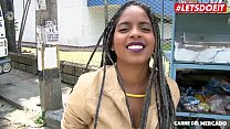 LETSDOEIT - Ebony Latina Picked Up at The Market To Get Fucked
