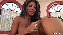 Teanna Kai and Mya Luanna are using various sex toys