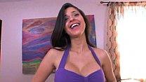 Hot Latina Uma Stone Riding, Creaming, and Facial