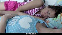 BFFS - Step Dad Fucks Daughter And Her Friends preview image