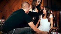 Virgin sugar baby pleased by sugar daddy in a threesome video