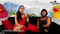 German Mistresses Herrin Carmen and Lady Julina looking for Adult b. Diaperboy