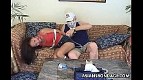 Thiruttumasala com - Asian teen tied up and groped by the old gangsta thumbnail