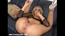 Kelly Wells Stretches Her Ass With A b. Dildo