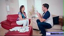 Slut Wife (Sara Jay) With Big Melon Boobs Hard Banged video-27
