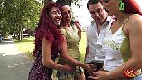 Le SpicyGirl spompinano Andrea Diprè al parco Chico Mendez di Torino