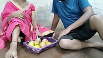 Brother fucked by giving money to the seller of mango