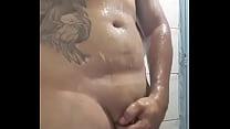 Gordinho no banho