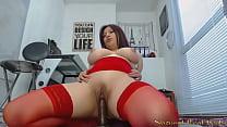 Big boob candy dildo
