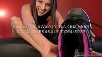 Felicia's Sweaty Naked Feet - (Dreamgirls in Socks)