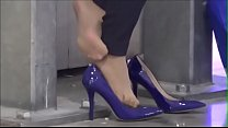 Cams4free.net - Business Woman Tired Feet Nylon Shoeplay