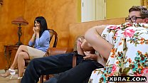 Teen couple seduce mature MILF to engage in a threesome Vorschaubild
