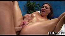Hawt gives a hawt massage with a hawt surprise fuck! Vorschaubild
