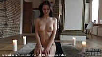 rebeka ruby nude yoga in my living room