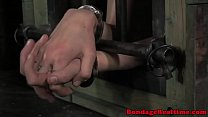 BDSM sub Mollie Rose breath play thumbnail