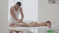 Sensual massage turns into deep pussy fucking # Sabrina Moore