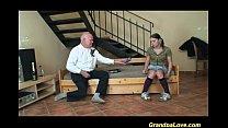 lucky day for horny grandpa Vorschaubild