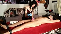 Beth Kinky - Goth domina sounding her slave with dilatator pt2 HD