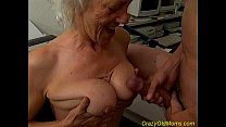 Crazy old mom fucked and oral