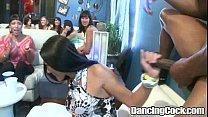 Dancingcock Cum-shots in the Club