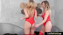 Lovely Lesbo Girls (Mickey Tyler & Kelly Paige) Love Sex On Camera mov-23