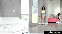 Image: (Veronica Rodriguez & Ally Tate) Lesbians Cute Girls Make Love On Camera clip-30