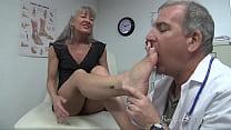 Doctor Examines Feet