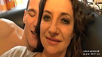12950 Amateur French mom seduces and gives her ass to a young big dick guy preview