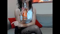 Sexy Polish babe teasing and stripping on cam paxcams.com preview image