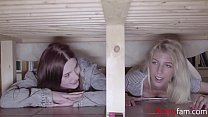 Sisters Get Caught Snooping Around & Punished- ...