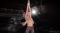 6332 Fitness chick bondage in sex dungeon endures kinky bdsm preview