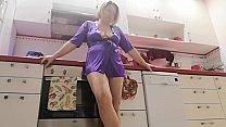 Stepson Spy Stepmom Om The Kitchen