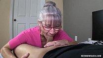 lana kendrick blowjob - Horny Granny Sucks A Young Dick thumbnail