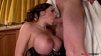 Ever-horny milf Clanddi Jinkcego blows hubby's cock before hardcore fuck thumbnail