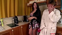Ever-horny milf Clanddi Jinkcego blows hubby's ... Thumbnail