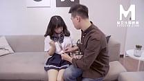 【国产】麻豆传媒作品/MD-0013 处女高中生 001/免...
