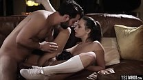 Her stepdad is old and horny and dont stop fucking her
