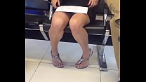 Upskirt en el aeropuerto de la cd de México
