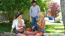 Sexy country girls Summer Brielle and Tasha Rei...