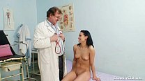 Brunette Pavlina Vagina Exam By Old Doctor At Clinic Preview