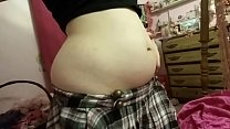 FatGirlsHome.COM - (HD) Soft, Jiggly Belly Play